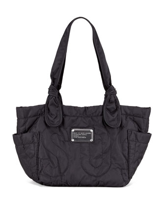 Pretty Nylon Kristine Tote Bag, Black