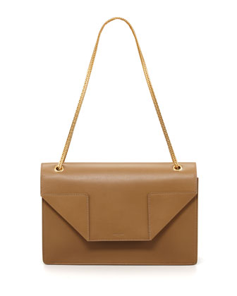 Betty Medium Chain Bag, Beige