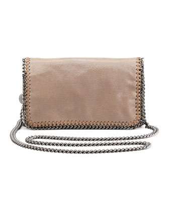 Falabella Crossbody Bag, Redwood