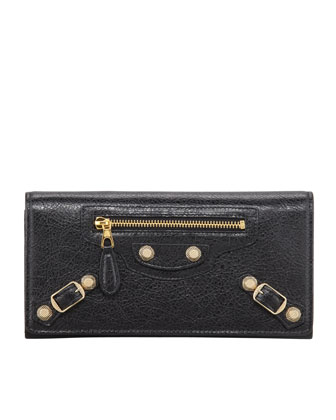Giant Golden Money Wallet, Black