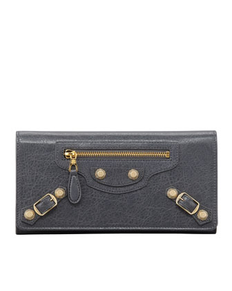 Giant Golden Money Wallet, Gris Tarmac