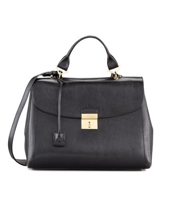 The 1984 Satchel Bag, Black