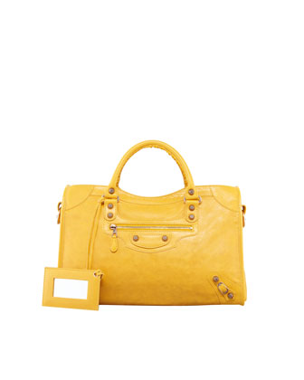 Giant 12 Rose Golden City Bag, Mangue