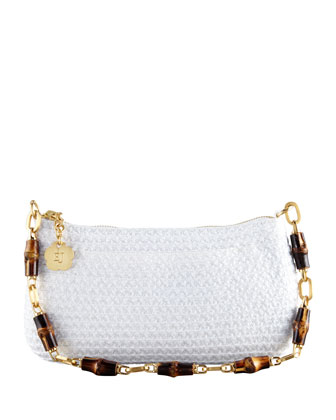 Bulu Bamboo Clutch Bag