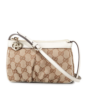 Mini Zip-Top Crossbody Bag