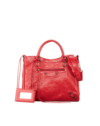 Classic Velo Crossbody Bag, Rouge Cardinal