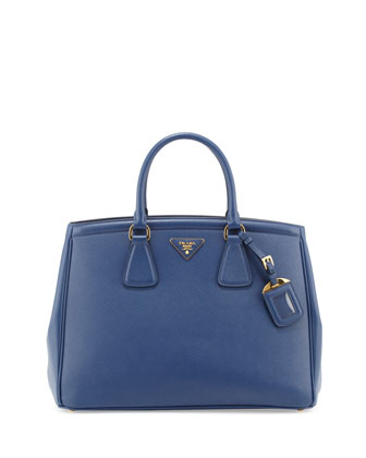 Saffiano Parabole Tote, Royal Blue