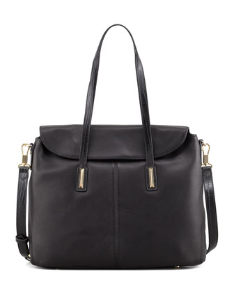 Medium Satchel Bag, Black