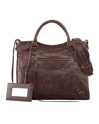 Classic Velo Crossbody Bag, Cigare Fonce