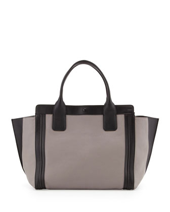 Alison Small Tote Bag, Cashmere Gray