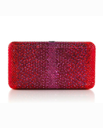 Airstream Large Ombre Minaudiere, Ruby-Hue Multi