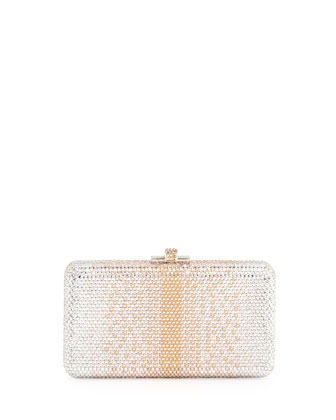 Airstream Large Ombre Minaudiere, Champagne Multi