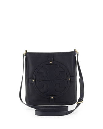 Holly Bookbag Crossbody, Navy