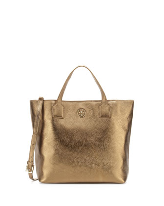 Emmy Crossbody Tote Bag, Gold