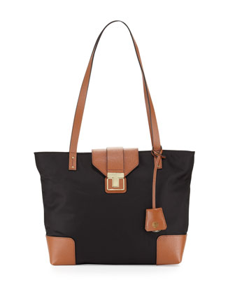 Penn Mini Tote Bag, Black