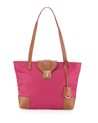 Penn Mini Tote Bag, Fuchsia