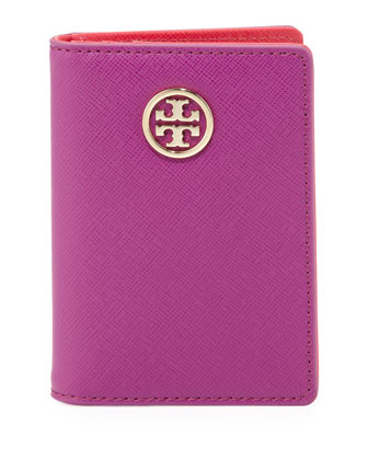 Robinson Transit Pass Holder, Fuchsia-Orange