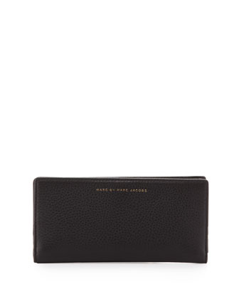 Sophisticated Slim Wallet, Black
