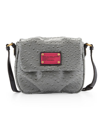 Classic Q Isabelle Crossbody Bag, Chromium