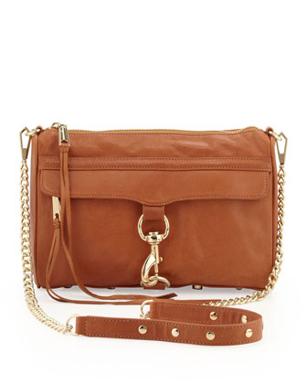 MAC Clutch Crossbody Bag, Toast