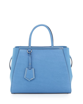 2Jours Saffiano Medium Tote Bag, Periwinkle