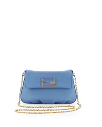 Fendista Pochette Crossbody Bag, Nebula