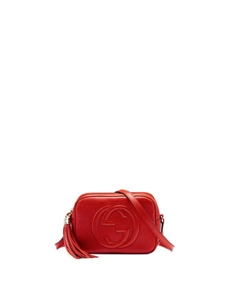 Soho Leather Disco Bag, Tobasco Red