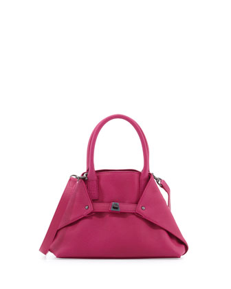 Ai Cervo Extra-Small Messenger Bag, Bougainvillea