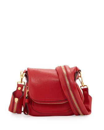Jennifer Mini Crossbody Bag, Dark Orange