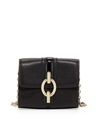 Sutra Micro Mini Crossbody Bag, Black