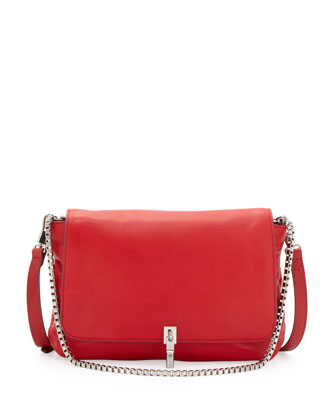 Cynnie Medium Crossbody Bag, Red Joy