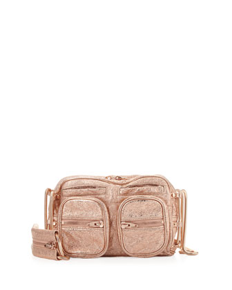 Brenda Chain Shoulder Bag, Rose Gold