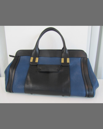 Alice Colorblock Medium Satchel Bag