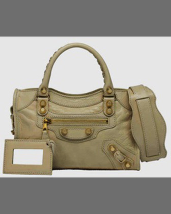 Mini Giant 12 Golden City Bag, Vert Jade