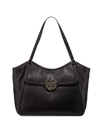 Amanda Small Easy Tote Bag, Black