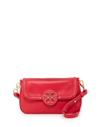 Amanda Mini Messenger Bag, Carnival Pink