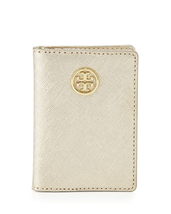 Robinson Transit Pass Holder, Gold