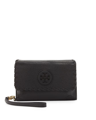 Marion Smart Phone Wristlet, Black