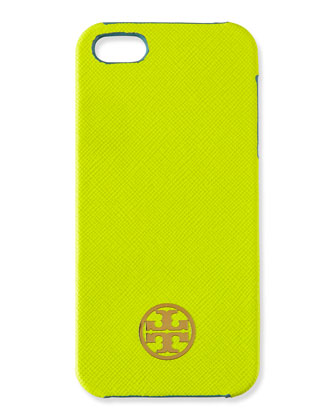 Robinson Saffiano iPhone 5 Case, Gingko Leaf
