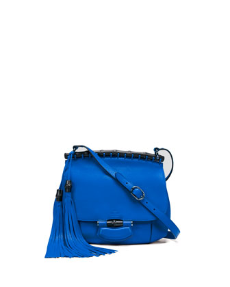Nouveau Medium Leather Crossbody Bag