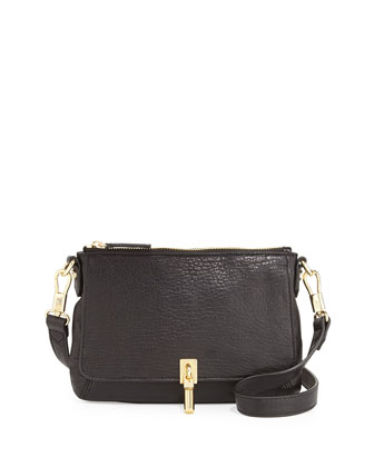 Cynnie Micro Crossbody Bag, Black