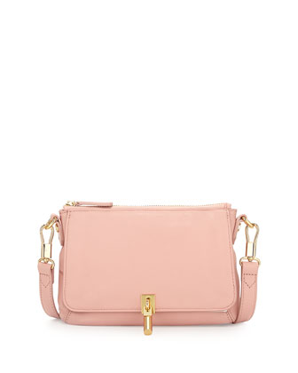 Cynnie Micro Crossbody Bag, Pink Beach