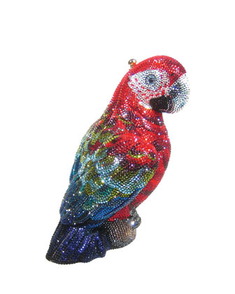 Paolo Crystal Parrot Minaudiere