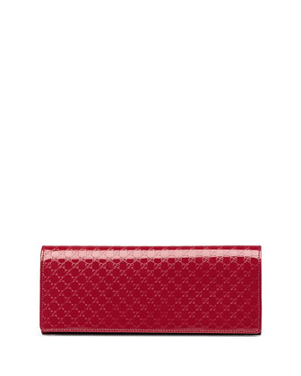 Broadway Guccissima Evening Clutch Bag, Rosebud