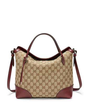 Original GG Canvas Flap Shoulder Bag, Ruby