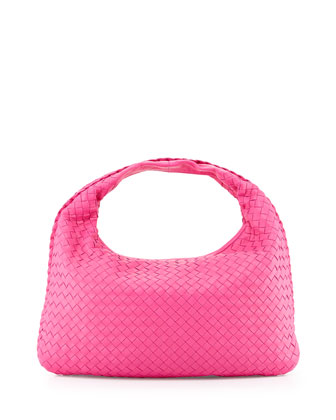 Medium Sac Hobo, Rosa