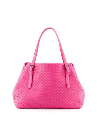 Medium A-Shaped Tote Bag, Rosa