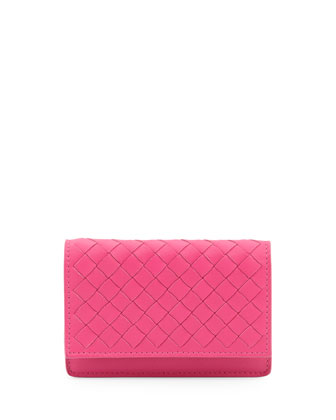 5/6 Flip Credit Card Case, Rosa Fuchsia