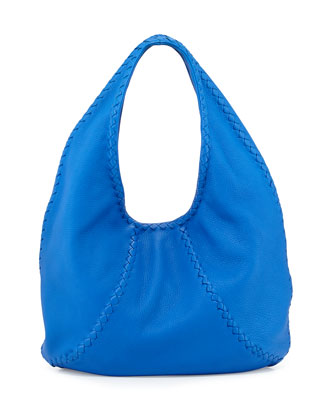 Cervo Medium Open-Shoulder Hobo Bag, Signal