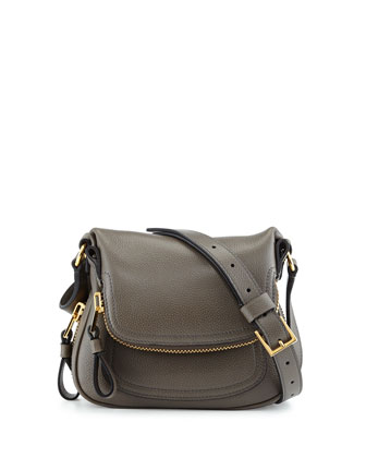 Jennifer Micro Crossbody Bag, Graphite